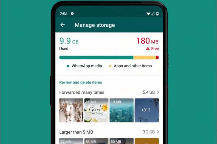 WhatsApp's New Storage Management Tool Makes it Easier to Free Up Space |  Beebom