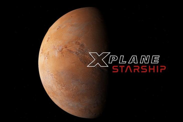 spacex starship simulator x plane starship feat.