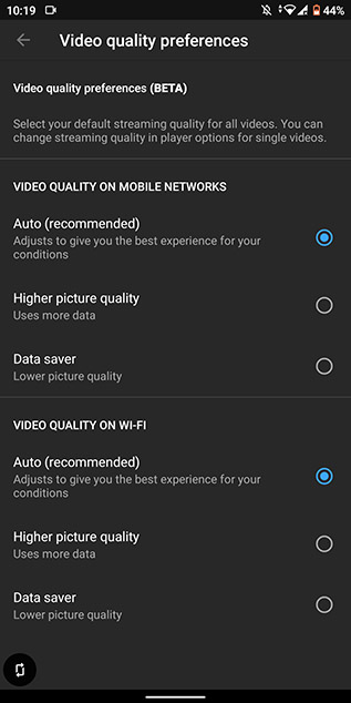 YouTube is Testing New Video Quality Settings Where You Don't Directly Set the Resolution