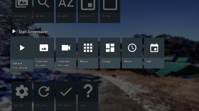 Set Custom Screensavers on Android TV
