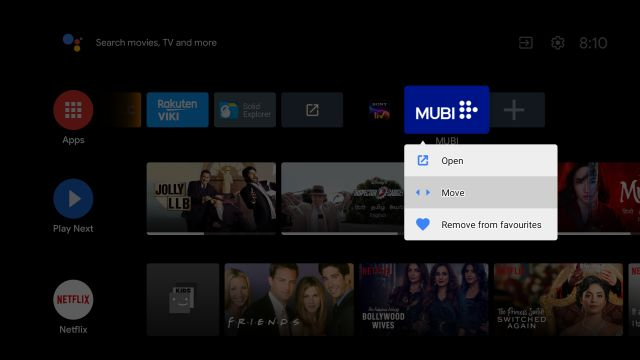 Customize Your Android TV Home Screen