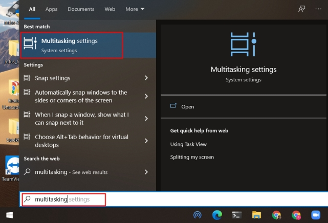 Remove Microsoft Edge Tabs from Alt+Tab Switcher