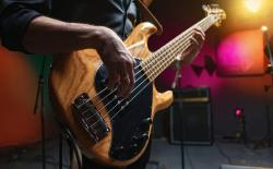 Ai playing infinite bass solo on youtube