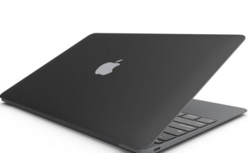 Apple patent for matte-black macbook