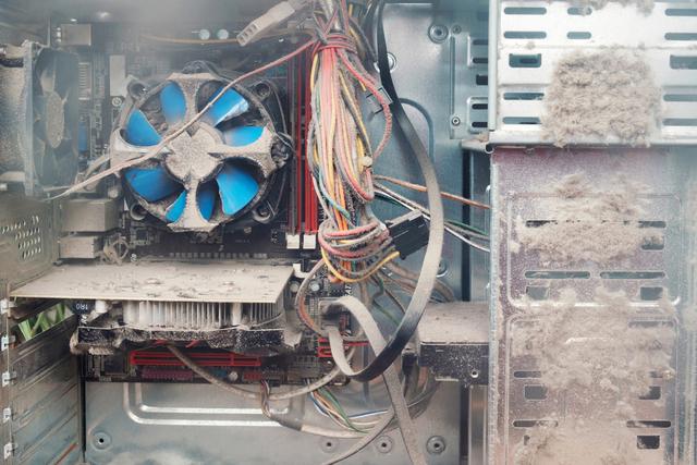 Ελέγξτε τον υπολογιστή με θερμοκρασία σκονισμένου επεξεργαστή