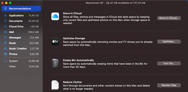 Elimina el desorden en tu Mac