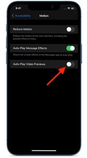 Disable Safari auto-playing videos