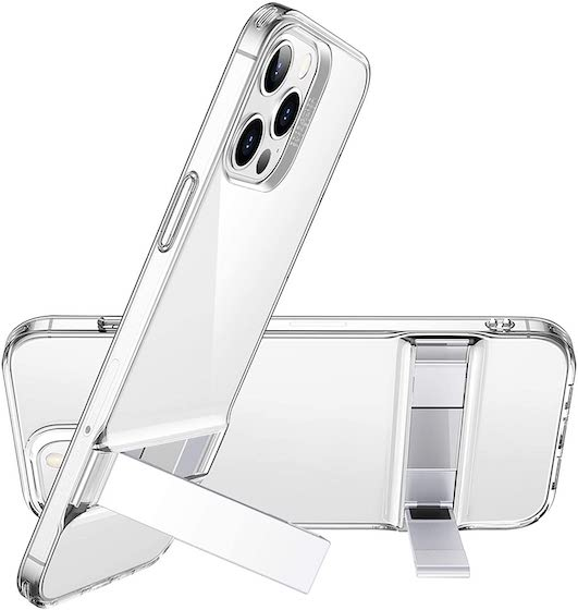 ESR Metal Kickstand Case Compatible with iPhone 12:Compatible with iPhone 12 Pro
