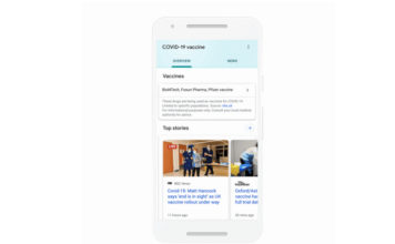 Google Search Will Now Show Authorized Vaccines