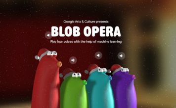 Googl blob opera christmas song creator