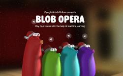 Googl blob opera christmas song creator