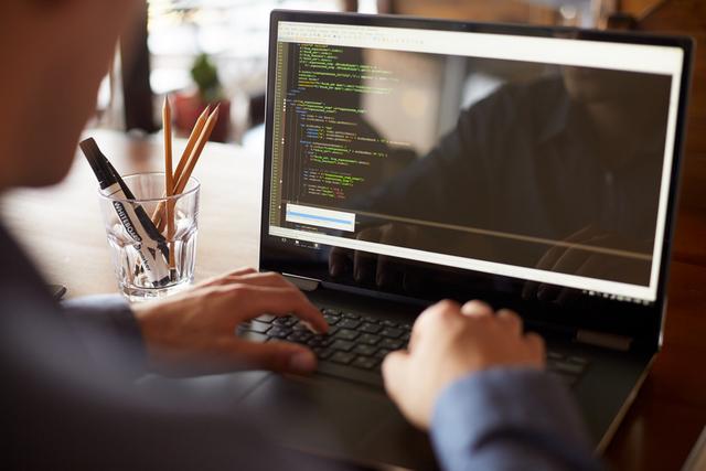 HTML5 laptop programmer