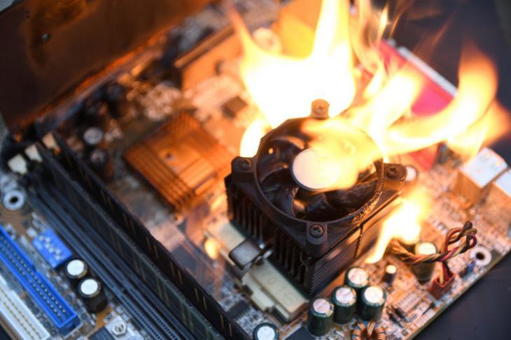 How to Check CPU Temperature shutterstock website