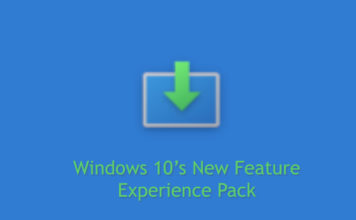 How to Install Windows 10's New Feature Experience Pack