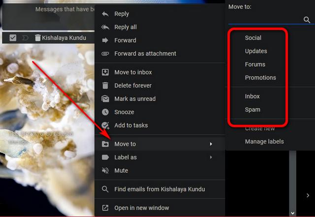 Как восстановить удаленные письма в Gmail