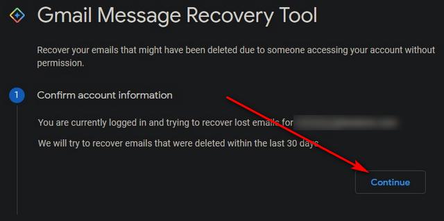 Восстановить навсегда удаленные электронные письма в Gmail