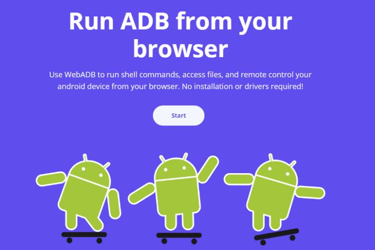 How to Run ADB from Your Browser