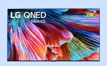 LG QLED - mini LED TVs launch at CES 2021