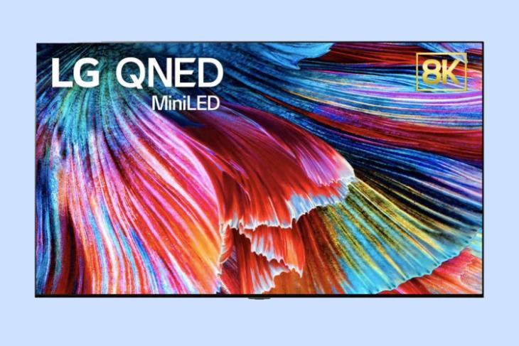 LG QLED - mini LED TVs launch at CES 2021