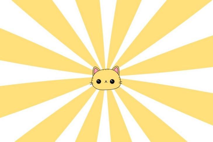 Chrome extension laser cat