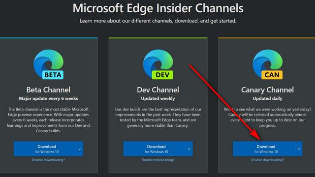 Microsoft Edge With Color Theme Picker