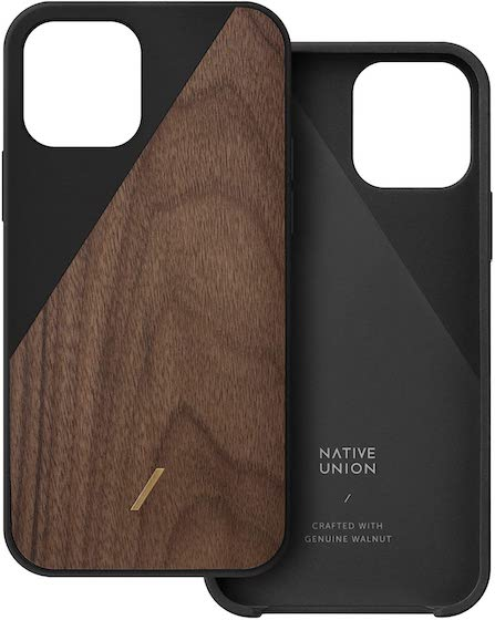 Native Union Clic Wooden Case for iPhone 12 mini