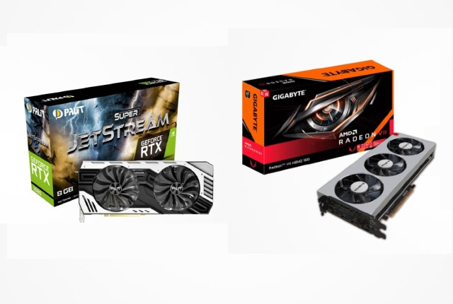 Nvidia RTX AMD Radeon GPUs