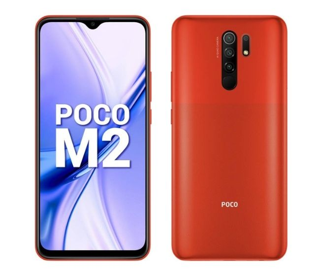 Poco M2 - cheap budget gaming smartphone in India