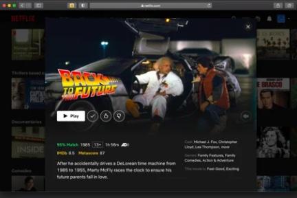Popcorn for Safari - Get Netflix Ratings