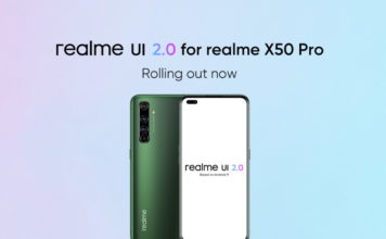 Realme UI 2.0 Based on Android 11 Starts Rolling out to Realme X50 Pro