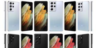 Samsung Galaxy S21 Series Press Renders Leaked for All Color Variants evleaks
