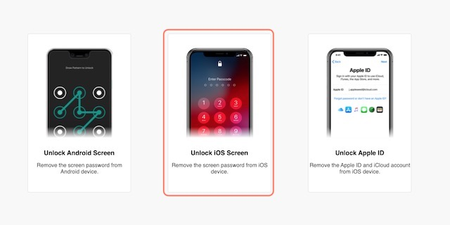 Steps to Unlock and Rest Locked iOS Devices using Dr.Fone 3