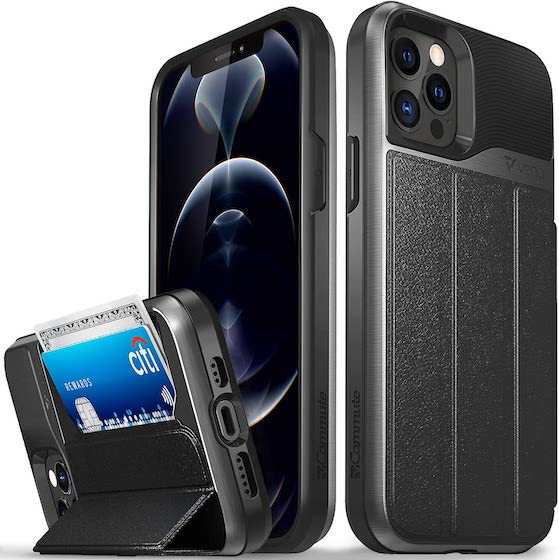 Vena Wallet Case Compatible with Apple iPhone 12:12 Pro