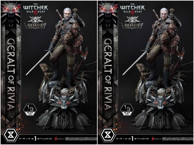 Witcher geralt statue ss 2