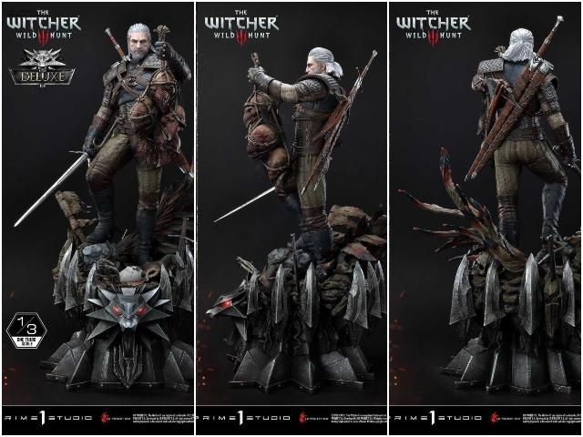 Witcher geralt statue ss