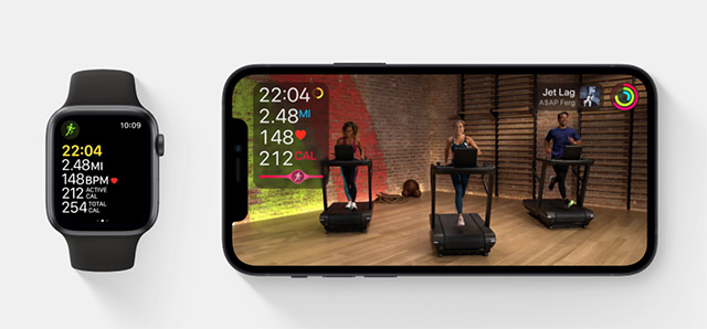 apple fitness+ interface