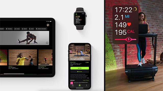 devices compatible with apple fitness plus