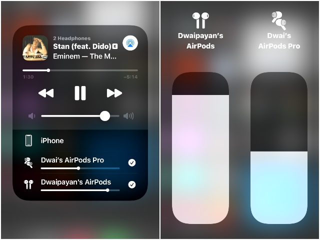 airpods audio sharing how to