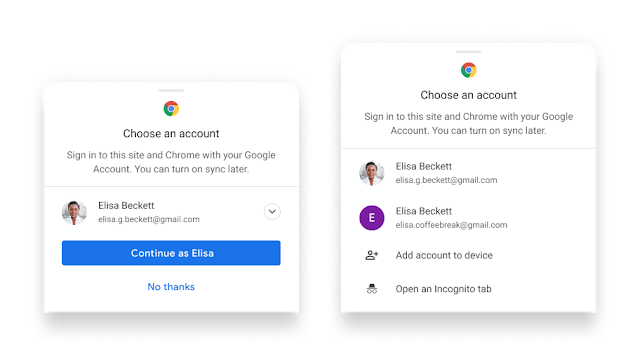 chrome sign-in android