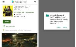 cyberpunk 2077 mobile version ransomware feat