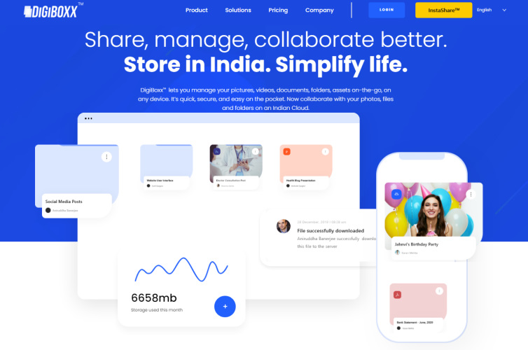 digiboxx - india google drive alternative