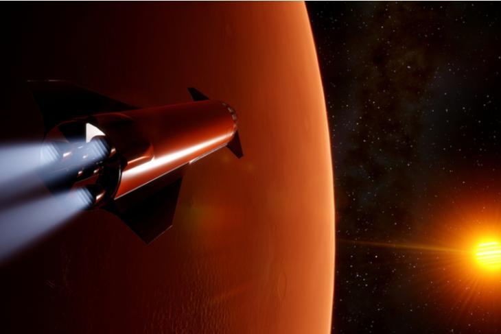 elon musk says humans will land on mars feat.