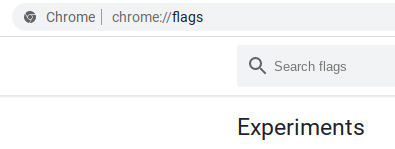 go to chrome flags in chromebook