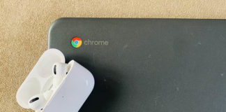 how to pair airpods pro with chromebook