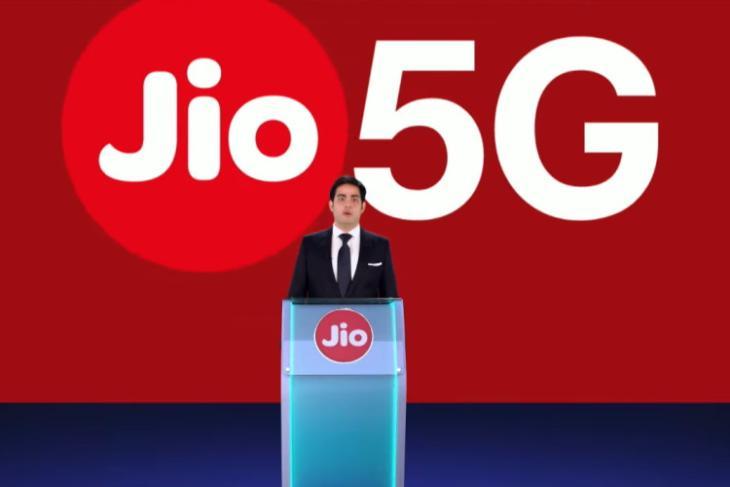 reliance jio 5G india launch