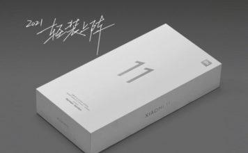 xiaomi mi 11 retail box - no charger