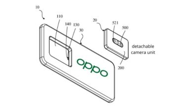 oppo patent smartphone with detachable camera