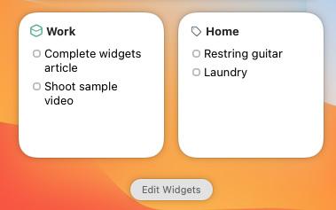 things 3 widget mac