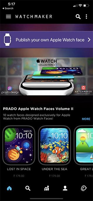 watchmaker app custom apple watch faces