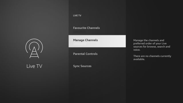 manage channels